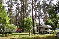 Knatter Camping in Bantikow am See (47 km)