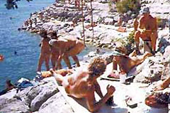 Hippie Hollow Clothing Optional Park (39 miles)